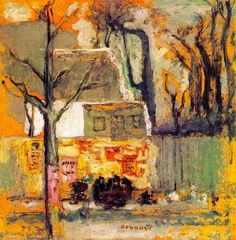 Pierre Bonnard - A Corner of Paris c.1905