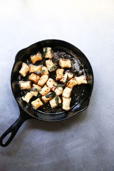 Rustic Gnocchi with Sage Brown Butter Sauce