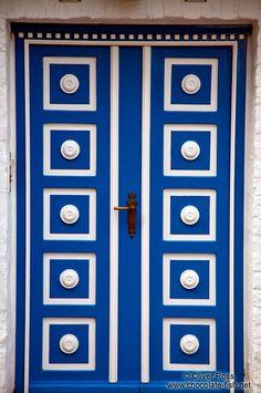 Wooden door in Lübeck