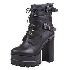 ENMAYERブラック新しいハイヒールのファッション快適、快適な滑り止め暖かい女性のブーツと秋と冬43 ENMAYER https://www.amazon.co.jp/dp/B01MDOQKW0/ref=cm_sw_r_pi_dp_x_5vkAyb1YD38FM