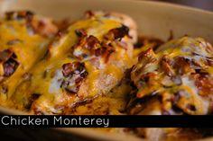 Chicken Monterey | Aunt Bee's Recipes
