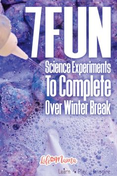 Usually during winter break, everyone is looking for something to do besides sit in front of the tv all day. These awesome science experiments are a great way to bond, have fun, and learn something new while kissing that boredom goodbye!