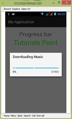 dialogo de progreso android tutorial