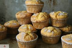 """<p>Recipe here: <strong><a href=""""http://heatherchristo.com/cooks/2013/09/15/pumpkin-snickerdoodle-muffins/"""" target=""""_blank"""">PUMPKIN SNICKERDOODLE MUFFINS</a></strong></p>"""