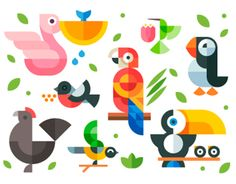 Spring mood. My site - http://www.olegberesnev.com/Magic-birds For sale :)