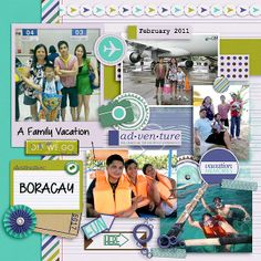 Layout using OVERSEAS by JB Studio that's available at Go Digital Scrapbooking at 20% off.