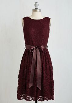Lovely as Lychee Dress in Wine. A worldly gal such as yourself always yearns to try new things - whether testing a new cuisine or trying on a sassy new dress. Modcloth