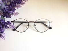 6367030e6596 Black Glasses Oval eyeglasses small vintage round eyeglasses Retro frames  antique Glasses Hipster glasses Bronze eyeglasses Lennon frame