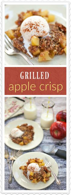 Perfect for camping or tailgating, a grilled apple crisp in a foil pack is a del… A grilled apple in a foil wrapper is a delicious, simple and portable version of the classic. Camping Bedarf, Backpacking Food, Camping Recipes, Camping Foods, Camping Drinks, Camping Dishes, Camping Cooking, Outdoor Camping, Camping Cabins