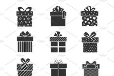 Presents signs with ribbons and bows. Christmas Present Background, Christmas Present Vector, Opening Christmas Presents, Happy New Year Background, Merry Christmas Vector, Christmas Card Template, Christmas Banners, Christmas Greeting Cards, Christmas Greetings