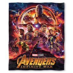 Marvel Avengers: Infinity War Throw, Multicolor