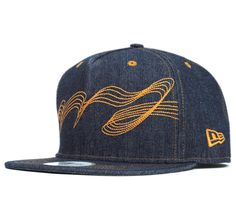 Stitched denim New Era NineFifty. Only available only in Japan. $50.00