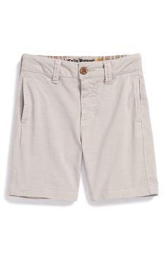Boy's Tailor Vintage Knit Cotton Shorts