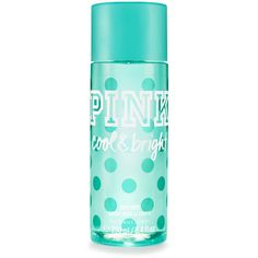 PINK Cool & Bright Body Mist ($18) ❤ liked on Polyvore featuring beauty products, fragrance, beauty, print and fruity perfume