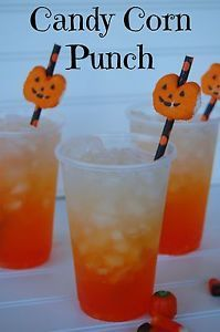 This fun and festive, layered drink is super impressive as well as super simple! It would be perfect to serve at Halloween party for children or just as a fun and delicious surprise as an after school...