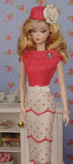 Coral Mist for Barbie & Victoire Roux by HankieChic on Etsy