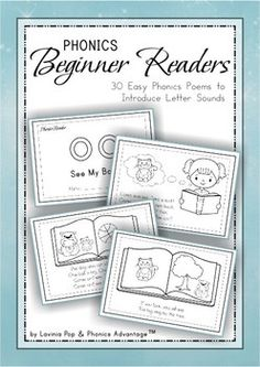 Phonics Readers - 30 Easy Phonics Poems to Introduce Letter Sounds
