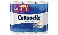 Cottonelle 9pk Clean Care Mega Rolls (2 pack)  $5 Gift Card $16.98 (target.com)