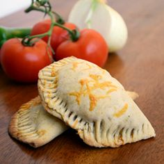 Curry Corn Empanadas.  A twist on a great way to satisfy your Mexican food craving.