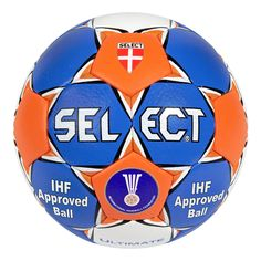 Ballon handball Select Ultimate 2014 - www. Nike Soccer Ball, Paintball Guns, Personal Defense, Football Fans, Club, Leather Cover, Country Of Origin, Things That Bounce, The Selection