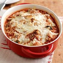Chicken and broccoli bake with cheesy crust from Weight Watchers UK