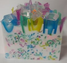 soap, Ralph Lauren Blue soap Slice, , Handmade Soap, Fragrant Soap, glycerin soap, soap. $6.00, via Etsy.