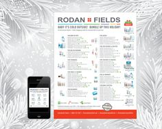 Rodan + Fields Holiday Gift Guide for 2016 (USA) Personalized, for Emailing or Printing - 1 Side - Includes 1 Mini Instagram Postable by ConsultantsProShop on Etsy