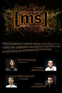 Hernan Cattaneo - Mercuryserver 8th Anniversary - Exclusive Mix - 02-May-2010