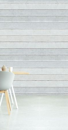 Eijffinger - Wallpower Rhythm 330040 Painting Wallpaper, Wall Wallpaper, Inspirational Wallpapers, Beach Look, Sweet Home, Shabby Chic, House Design, Living Room, Chair