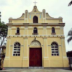 Igreja de Colônia Paulista, construída em 1910, no extremo sul da Cidade de São Paulo.