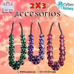 El #CyberLunes se tomó a #Carav... Hoy Paga 2 y lleva 3 #collares hindúes!!!  Combinalos como quieras, #estilos, #colores y #diseños diferentes para que combines con tu #outfit #favorito!!!  Promoción valida solo por hoy y mañana!!!  Pidelos en www.carav.co Más info por inbox o whatsapp📲3156711224 ✈️ Envios #Gratis a todo el país 🇨🇴 #Colombia  #Descuento #Promocion #CyberDays #Accesorios #Promociones #Accesorio #Collar #TiendaOnline #TiendaVirtual #Carav