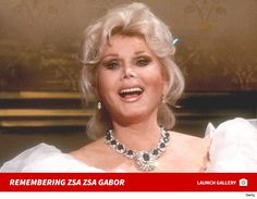 Actress Zsa Zsa Gabor died December 18, 2016 at the age of 99 after suffering a heart attack.  She was  just 2 months shy of her 100th birthday.
