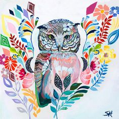 The Cautious One by Starla Michelle Painting Print on Wrapped Canvas