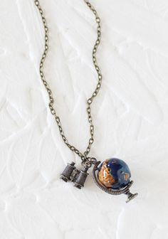 Globe Trekker Necklace