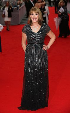 Pin for Later: Downton Abbey's Finest Celebrate With BAFTA Phyllis Logan