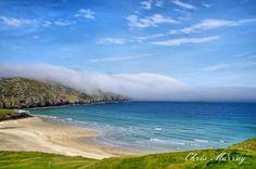Cliff beach on Uig Isle of Lewis chris murray