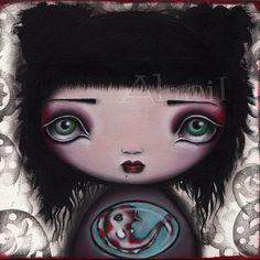 Yuri Painting - Original Abril Andrade Griffith $325.67