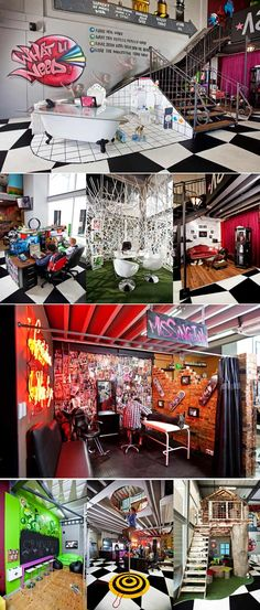 Awesome creative spaces