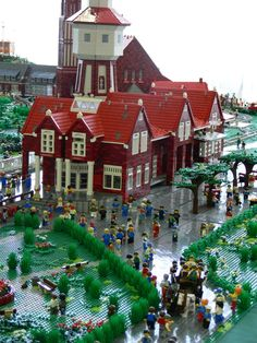 Lego-Langeoog - a new display: A LEGO® creation by Andreas Boeker : MOCpages.com