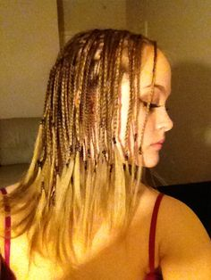 White Girl Box Braids Caucasian Box Braids White Hair
