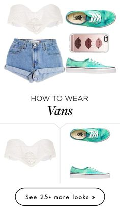 """Coachella #2"" by perriee22 on Polyvore featuring River Island, Levi's, Vans and Casetify"