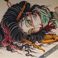 """568 Likes, 7 Comments - #Asian_inkandart (@asian_inkandart) on Instagram: """"Artwork done by: ✨@cktattoosg✨ #asian_inkandart"""""""