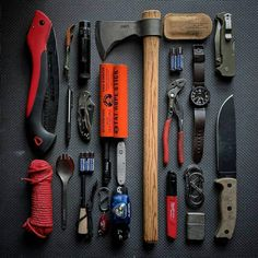 Packing for a camping trip is the perfect opportunity for a I'm taking the Model One with me this time. Bushcraft Camping, Bushcraft Gear, Camping Survival, Camping Gear, Camping Tools, Winter Survival, Camping Gadgets, Camping Equipment, Tent Camping