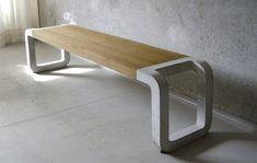 beautiful concrete furniture from Metrofarm.