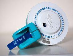 vintage office dymo label maker labeling cool stuff pinterest