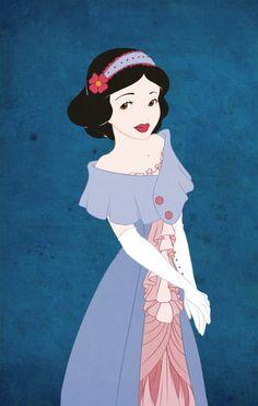 Blue Snow White