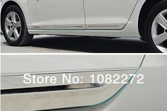 Stainless Steel Car Side Door Body Moulding Trim Cover For VW Golf 7 Mk7 GTI R 2013 2014 Accessories #Affiliate