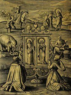 Engravings for Duodecim Specula Deum Aliquando Videre Desideranti Concinnata, by Théodore Galle 1610