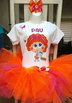 Tutu personaliisame Chamoy, distroller, de venta en personaliisame@gmail.com 8th Birthday, Tutu, Barbie, Hello Kitty, Baby Shower, Party, Outfits, Dresses, Ideas