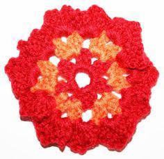 gehaakte bloem haakpatroon voor beginners EN VELE ANDERE BLOEMENPATROONTJES!!
